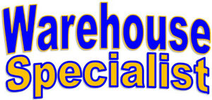 Warehouse Specialist – Full Time with Benefits!