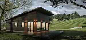 New Lakeside Golf Course Cottage Retirement/University