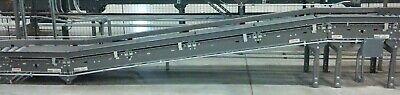 15ft X 24 Wide Incline Decline Belt Fki Logistex Conveyor W Powerfeed Works