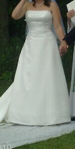 wedding dress with vale