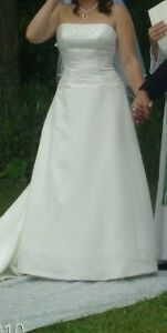 wedding dress with vale for sale