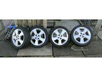 Vauxhall 16 inch Alloys 195/45