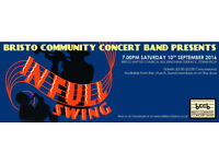 'In Full Swing' concert on Saturday 10 September, 7pm at Bristo Baptist Church