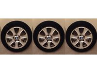 """16"""" alloy wheels fitted with Bridgestone tyres - BMW 1 series & 3 series"""