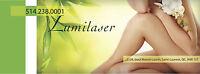Épilation LASER (IPL) / Soins de peau / www.lumilaser.ca