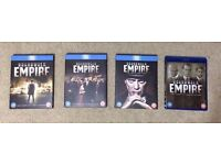 Boardwalk Empire Seasons 1-4 (Bluray) Like New.