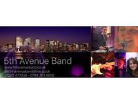 Band performing covers for Weddings-Birthdays-Summer FETES BBQs -Anniversays-Military-Corporate