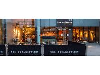 FT/PT WAITERS REQUIRED - BUSY CITY CENTER VENUE - THE REFINERY BY DRAKE & MORGAN