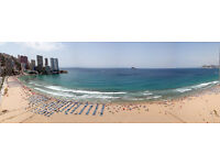 Benidorm Levante beach Seaviews Short therm Sleeps 4 Parking