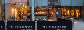 PART TIME BAR-BACKS WANTED - CITY CENTER VENUE - THE REFINERY, ST ANDREW SQUARE