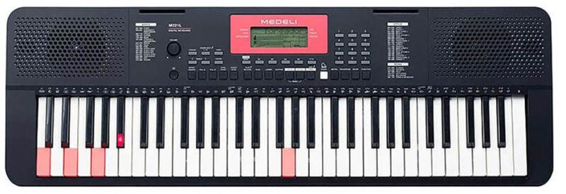61 Key Keyboard with LED Keys