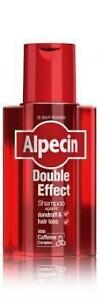 ALPECIN DOUBLE EFFECT SHAMPOO 200ML. REDUCES DANDRUFF & HAIR LOSS!!