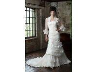 Ian Stuart Nelle 14 wedding dress new in box designer