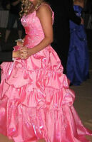 Pink, Sequence Prom Dress