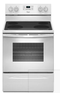 Almost NEW - Whirlpool Stove ($650) with matching fridge ($850)