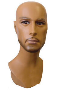 MALE MANNEQUIN DISPLAY HEAD SM02T