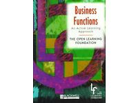 Business Functions An Active Learning Approach Book