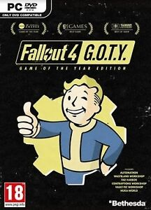Fallout 4 GOTY (all DLC) Steam PC Sealed