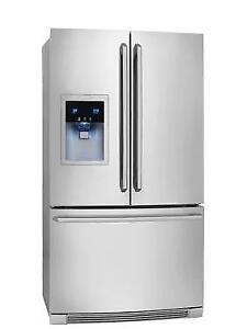 Réfrigérateur 36'', Electrolux, Distributeur d'eau, Stainless