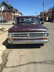 RARE LONG  BOX    1968  FORD  F 100