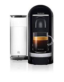 NE Nespresso VertuoPlus Deluxe Coffee and Espresso Machine, Black, 2.3