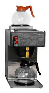 Commercial pour-over coffee brewer - 2 warmers