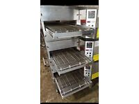 MIDDLEBY MARSHALL - PS536 - 20 INCH BELT -GAS TRIPLE STACK- CONVEYOR - PIZZA OVEN