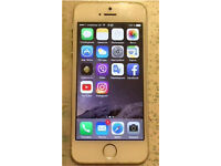 iPhone 5s on all networks excellent condition