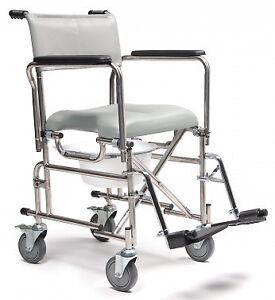 Shower Commode Wheelchair - Used 5 Times
