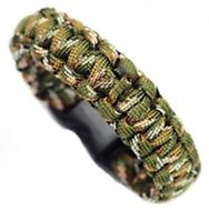 CAMO PARACORD BRACELETS/BUG FACE SHIELD NEW