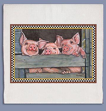 Pig Dish Towel