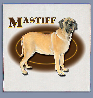 Mastiff Dish Towel