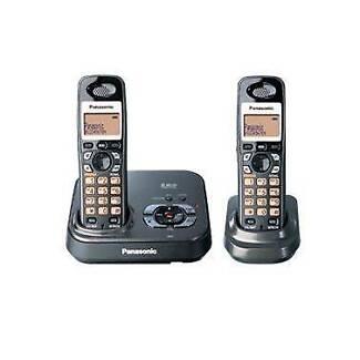 Panasonic Digital Cordless Phone 2 Pack Refurbished