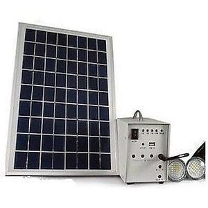 Portable Solar Power Lighting System Kit w/ Battery Dandenong Greater Dandenong Preview