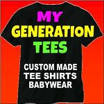 My Generation Tee Shirts
