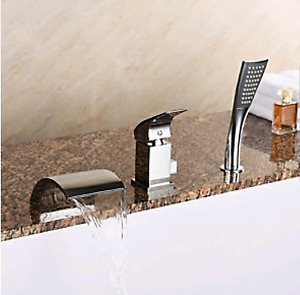 Jacuzzi / jetted tub Faucet kit with hand shower