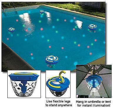 Floating Pool Lights Ebay