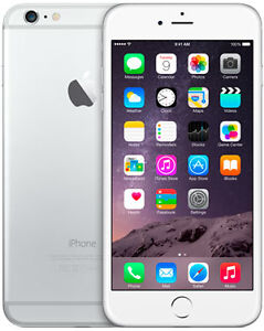 Iphone 6 plus 64gb silver Rogers