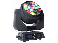 Moving Heads,Moving Head Wash,LED Amazing Hawkeye With Zoom (PHN042)