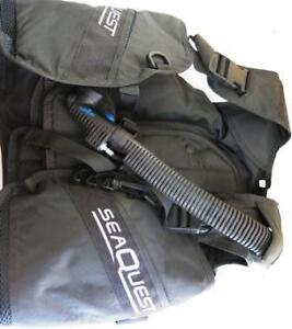 USED SEA-QUEST X-Small BCD Scuba Diving Salisbury Brisbane South West Preview