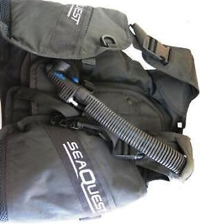USED SEA-QUEST X-Small BCD Scuba Diving