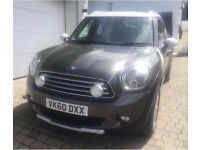 Fully Loaded Mini Countryman Cooper D Diesel, Manual, Full Leather, Media, Full Mini Service History