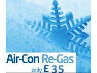 Air con Re-gas £35 Yate/Bristol 07508609047