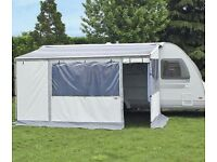 Fiamma Caravanstore Zip 3.6m complete with sides and front panels