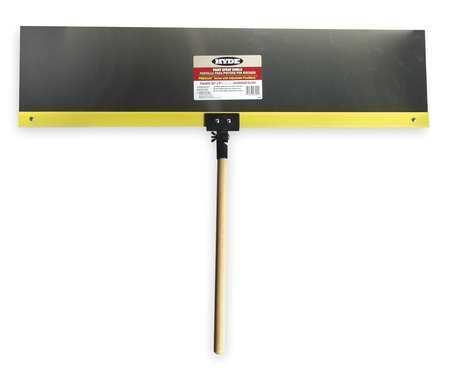 Hyde 28001 Flex Paint Shield,Alum,36 In,18 In Hndl