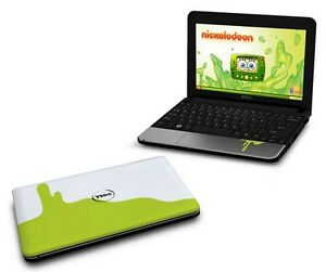 Reduced! Like new Dell Inspiron mini limited edition Nickelodeon
