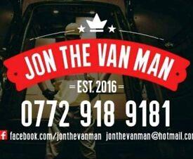 Jon The Van Man Bangor,Holywood North down and Ards