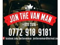 Jon The Van Man Bangor,Holywood North down and Ards