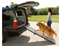 Pet Gear Tri-fold Dog Ramp - New and unused