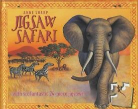 Top rated-Jigsaw Hardcover Book with six 24 pc jigsaws. RRP £16